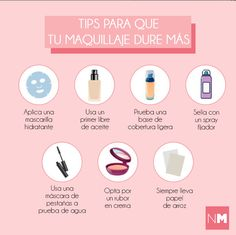 Tips para que tu maquillaje dure más - Rebel Without Applause Beauty Care, Diy Beauty, Beauty Skin, Beauty Makeup, Beauty Hacks, Face Care, Body Care, Facial Tips, Make Up Dupes