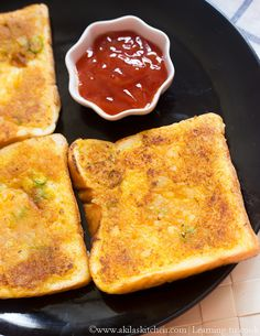 : Potato Toast | Aloo Toast | Indian Bread Toast Recipes