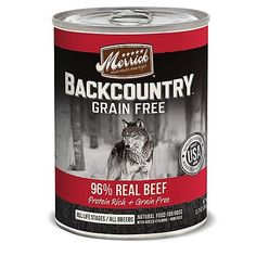 Merrick Backcountry 96 Real Beef Can Dog Food > Trust me, this is great! Click the image. : Dog Food