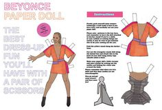 Paper dolls - The next time someone tells you that your favorite pop star is two-dimensional, you can pull out these paper dolls and prove them right.   These pa...