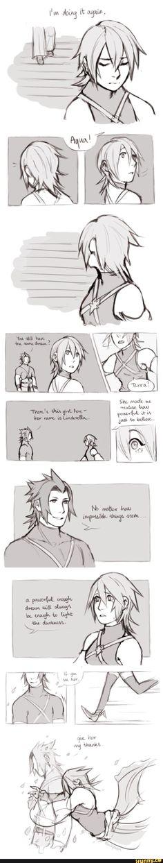 Kingdom Hearts 0.2:Seeing You Again(Terra & Aqua)