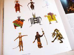 Costume Illustrations  The Lion King  Julie Taymor