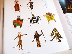 Costume Illustrations  The Lion King  Julie Taymor