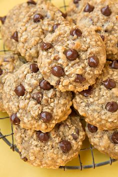 I'm loving oatmeal cookies lately, can you tell? I recently posted a Pumpkin Oat Chocolate Chip Cookies and Zucchini Oat Chocolate Chip Cookies, and they a