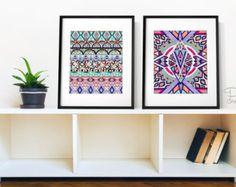 Stammes-Mandalas Serie 8 x 10 oder 11 x 14 von PomGraphicDesign