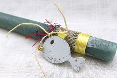 Handmade easter candle (lambada)
