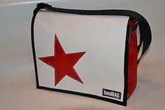 ♥ Marke feedBAG trendy Stern Star Messenger Bag LKW Plane Kuhfell Tasche im Shop | eBay