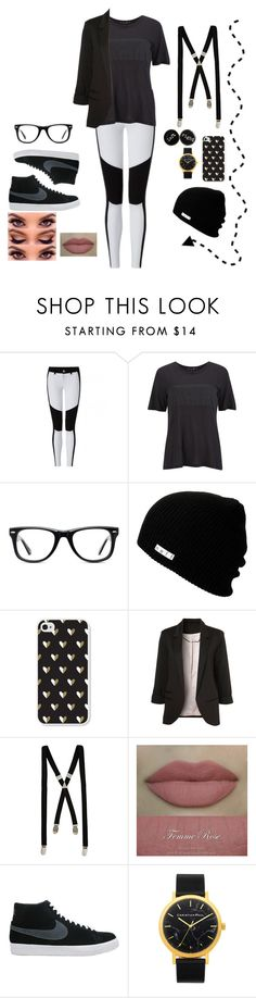 """Untitled #632"" by mariar559 ❤ liked on Polyvore featuring rag & bone, Muse, Neff, WithChic, River Island and NIKE"