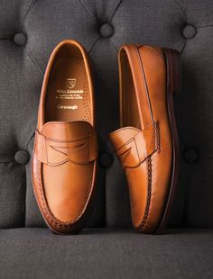A shoe wardrobe isn't complete without a classic slip-on loafer. Shop the #Cavanaugh now for $199 during #AllenEdmonds Rediscover America Sale.