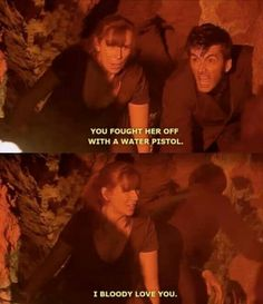 Donna Noble -- I bloody love you.