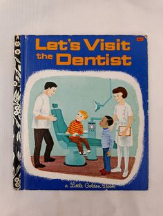 Vintage Little Golden Book 'Let's Visit the by WonderfulChildhood