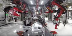 Tesla Robots Model X #ItsAmachineWorldAfterAll
