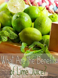 The Benefits of Lime