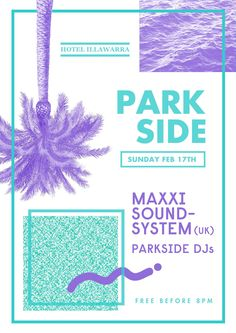 Nill Fruition / Park Side / Poster / Bande / Music /