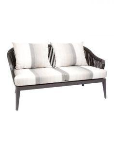 Vero Beach 2-seat Sofa Outdoor Sofa Sets, Outdoor Furniture, Outdoor Decor, Palm Garden, Vero Beach, Florida, Cushions, Home Decor, Throw Pillows