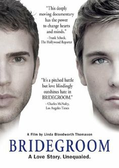 Bridegroom DVD ~ Shane Bitney Crone, saw this on the OWN channel. Wow! Amazing movie....