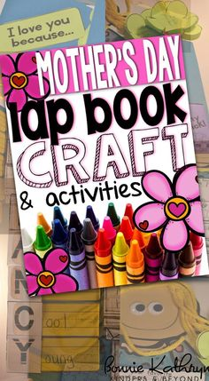 This Mother's Day lap book will be a great craft to complete for Mother's Day
