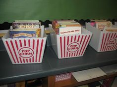 Kinder Kraziness-so cute for a movie themed classroom or even circus themed