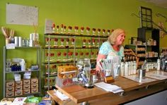 Makes Scents in The District where you can create custom blended scents! Photo by Patrice Raplee, All Rights Reserved.