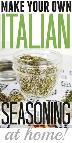 VISIT FOR MORE DIY Homemade Italian Seasoning recipe! Great for Italian food or even for making Italian dressing! The post DIY Homemade Italian Seasoning recipe! Great for Italian food or even for making appeared first on Diy. Homemade Italian Seasoning, Homemade Spices, Homemade Seasonings, Italian Seasoning Blend Recipe, Homemade Dry Mixes, Homemade Food, Food Storage, Italian Spices, Seasoning Mixes