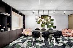 Nordgrona acoustic moss panels
