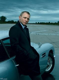 Daniel Craig, Aston Martin, New York.