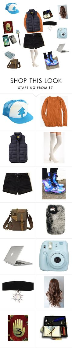"""""""Maisie """"Fishy"""" Pines"""" by lilly-n-hood-sos on Polyvore featuring Disney, J.Crew, Joules, Free People, Hollister Co., Speck, Fujifilm and Xonex"""