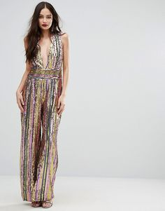 insane sequined jumpsuit is insane. asos.
