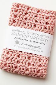 Prinsessajuttu: Virkattu tiskirätti, OHJE x 6 Weaving, Knitting, Diy, Hooks, Felt, Patterns, Ideas, Crochet Carpet, Blue Prints