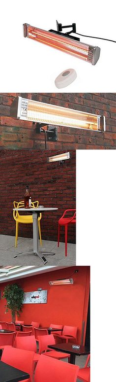 Patio Heaters 106402: Ener G+ Indoor Outdoor Ceiling Electric Patio Heater  With Led Light And Remote C  U003e BUY IT NOW ONLY: $184.75 On EBay!