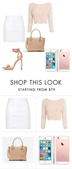 """""""Rose Gold"""" by jasmine-o28 ❤ liked on Polyvore featuring Topshop, Coast, CHARLES & KEITH and River Island"""