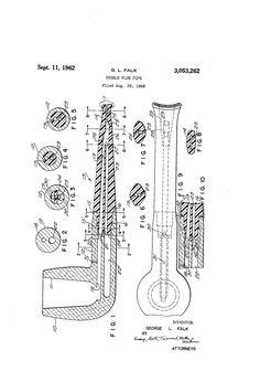 Patent US3053262 - Double flue pipe - Google Patents