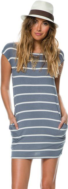 Swell Cappy Cap Sleeve Dress. http://www.swell.com/New-Arrivals-Womens/SWELL-CAPPY-CAP-SLEEVE-DRESS?cs=IN