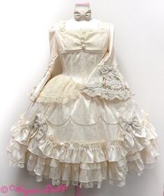 AP Rose Garden Princess OP in Ivory « Lace Market: Lolita Fashion Sales and Auctions