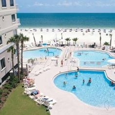 Springhill Suites By Marriott Pensacola Beach Gulf Breeze Fl Front Rooms On The