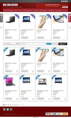 The website 'http://bigexclusive.com' courtesy of Pinstamatic (http://pinstamatic.com)