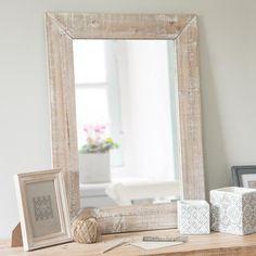 Specchio rettangolare sbiancato 55x75 - SOUTHPORT