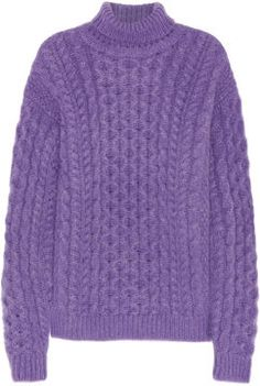 Christopher Kane Mohair-blend turtleneck sweater on shopstyle.co.uk