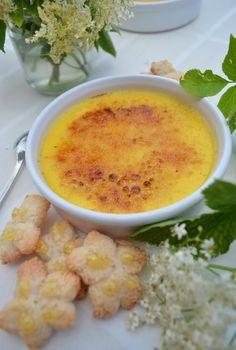 Crème brûlée à la fleur de sureau