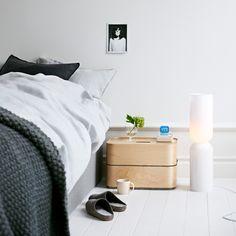 Iittala, Lantern Leuchte / Ambientebild - neben dem Bett