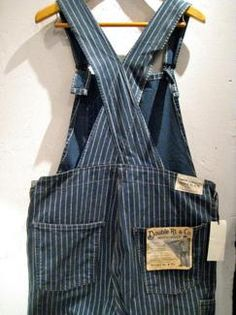 """""""RRL (LIMITED EDITION)"""" WABASH OVERALL New goods"""