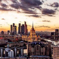 вид на City