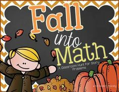 """This is designed to be a math """"hunt"""" around the classroom. Use it how it best suits your classroom! 