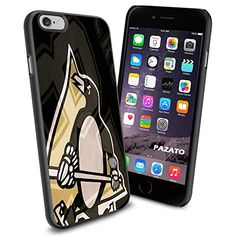 Hockey NHL Pittsburgh Penguins Logo , Cool iPhone 6 Smartphone Case Cover Collector iphone TPU Rubber Case Black 9nayCover http://www.amazon.com/dp/B00UQON31S/ref=cm_sw_r_pi_dp_RAMsvb0TD38MW