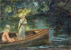 İbrahim Çallı Adada Piknik Sefası