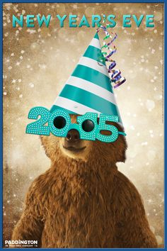 Happy New Year's Eve from Paddington! How are you celebrating?