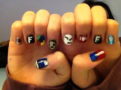 My fandom nails!