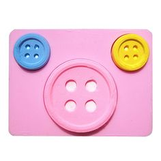 Big and Small Buttons Silicone Mold