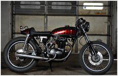 74 Honda CB350.