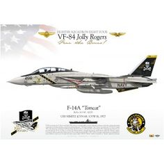 "F-14A ""Tomcat"" VF-84 ""Jolly Rogers"" DP-17"